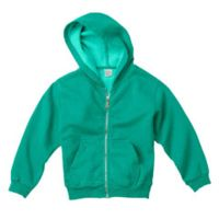 Youth 10 oz. Garment-Dyed Full-Zip Hooded Sweatshirt Thumbnail