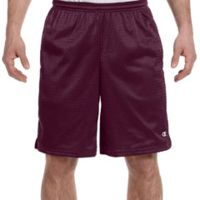 Adult 3.7 oz. Mesh Short with Pockets Thumbnail