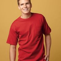 USA-Made Short Sleeve T-Shirt with a Pocket Thumbnail