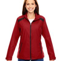 Ladies' Tempo Lightweight Recycled Polyester Jacket with Embossed Print Thumbnail