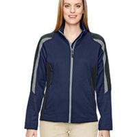 Ladies' Strike Colorblock Fleece Jacket Thumbnail