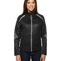 Ladies' Dynamo Three-Layer Lightweight Bonded Performance Hybrid Jacket Thumbnail