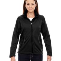Ladies' Splice Three-Layer Light Bonded Soft Shell Jacket with Laser Welding Thumbnail