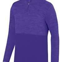 Adult Shadow Tonal Heather Quarter-Zip Pullover Thumbnail