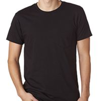Adult 4.5 oz., 100% Ringspun Cotton nano-T® T-Shirt with Pocket Thumbnail