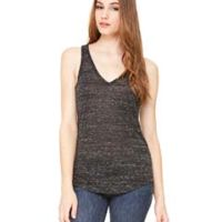 Ladies' Flowy V-Neck Tank Thumbnail
