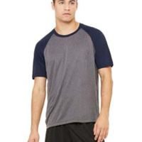 Unisex Performance Short-Sleeve Raglan T-Shirt Thumbnail
