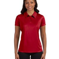 Ladies' Performance Three-Button Polo Thumbnail