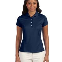 Ladies' climalite Texture Solid Polo Thumbnail