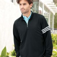 ClimaLite 3-Stripes French Terry Quarter-Zip Pullover Thumbnail