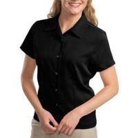 Ladies Easy Care Camp Shirt Thumbnail