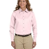 Ladies' Easy Blend™ Long-Sleeve Twill Shirt with Stain-Release Thumbnail