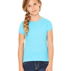 Girls' Baby Rib Short Sleeve Tee Thumbnail