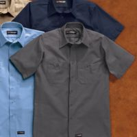 Short Sleeve Work Shirt Tall Sizes Thumbnail