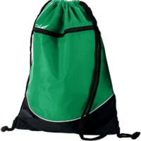 Tri-Color Drawstring Backpack Thumbnail
