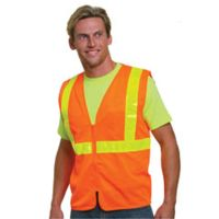 Mesh Safety Vest - Orange Thumbnail