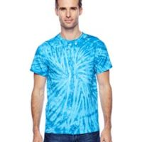 Adult 5.4 oz., 100% Cotton Twist Tie-Dyed T-Shirt Thumbnail