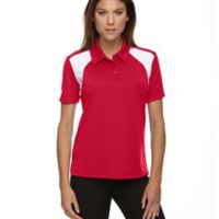 Ladies' Eperformance™ Colorblock Textured Polo Thumbnail