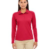 Ladies' Eperformance™ Snag Protection Long-Sleeve Polo Thumbnail