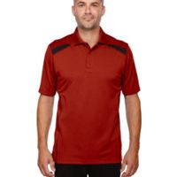Men's Eperformance™ Tempo Recycled Polyester Performance Textured Polo Thumbnail