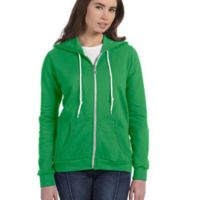 Ladies' Full-Zip Hooded Fleece Thumbnail
