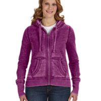 Ladies' Zen Full-Zip Fleece Hood Thumbnail