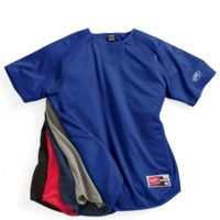 Short Sleeve Flatback Mesh Fleece Pullover Thumbnail