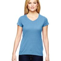 Ladies' Vapor® Cotton Short-Sleeve V-Neck T-Shirt Thumbnail