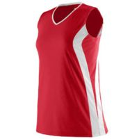 Girls Triumph Sleeveless V-Neck Jersey Thumbnail