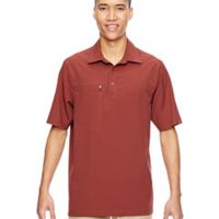 Men's Excursion Crosscheck Woven Polo Thumbnail