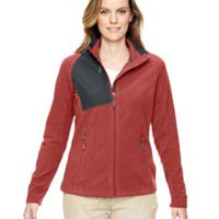 Ladies' Excursion Trail Fabric-Block Fleece Jacket Thumbnail