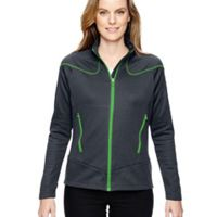 Ladies' Cadence Interactive Two-Tone Brush Back Jacket Thumbnail