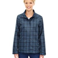 Ladies' Locale Lightweight City Plaid Jacket Thumbnail
