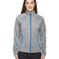 Ladies' Flux Mélange Bonded Fleece Jacket Thumbnail