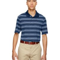 Men's puremotion® Textured Stripe Polo Thumbnail