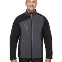 Men's Terrain Colorblock Soft Shell with Embossed Print Thumbnail