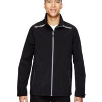 Men's Excursion Soft Shell Jacket with Laser Stitch Accents Thumbnail