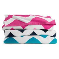 Chevron Velour Beach Towel Thumbnail