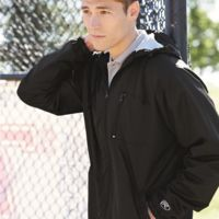 Hooded Full-Zip Wind Jacket Thumbnail