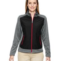 Ladies' Victory Hybrid Performance Fleece Jacket Thumbnail