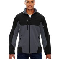 Men's Compass Colorblock Three-Layer Fleece Bonded Soft Shell Jacket Thumbnail