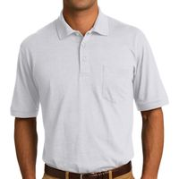 Core Blend Jersey Knit Pocket Polo Thumbnail