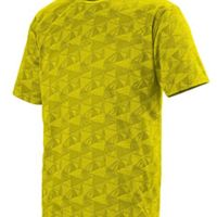 Youth Wicking Printed Polyester Short-Sleeve T-Shirt Thumbnail