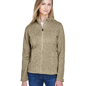 Ladies' Bristol Full-Zip Sweater Fleece Jacket Thumbnail