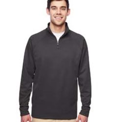 Adult 6 oz. DRI-POWER® SPORT Quarter-Zip Cadet Collar Sweatshirt Thumbnail