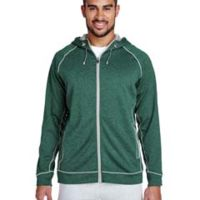 Men's Excel Mélange Performance Fleece Jacket Thumbnail