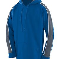 Youth Wicking Polyester Fleece Hoody Thumbnail