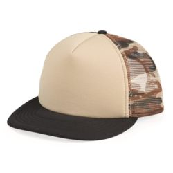 Foam Front Flat Bill Trucker Cap Thumbnail