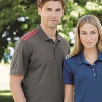 Climacool 3-Stripes Shoulder Polo Thumbnail