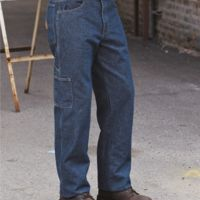 Flame Resistant Pre-Washed Denim Dungaree Thumbnail